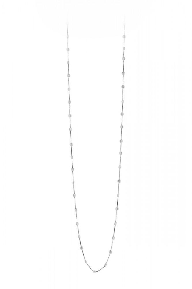 Collier SAREES-3, col. silver/black