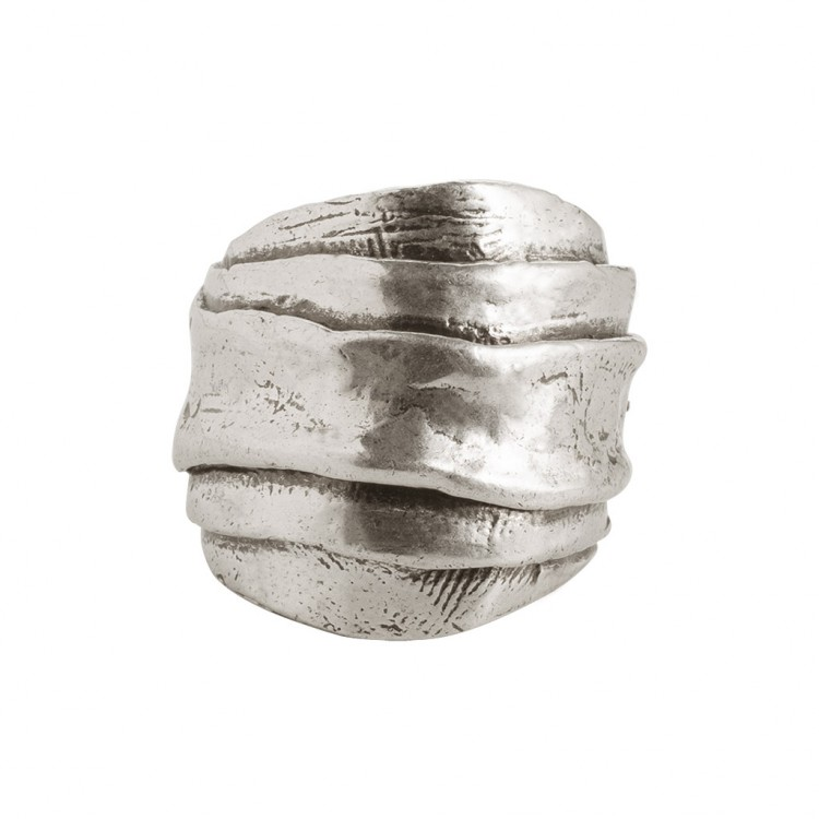 Ring ALKIRA-2, col. silber, Gr.S/M