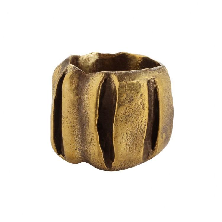 Ring KATANDRA, col. gold, Gr.M