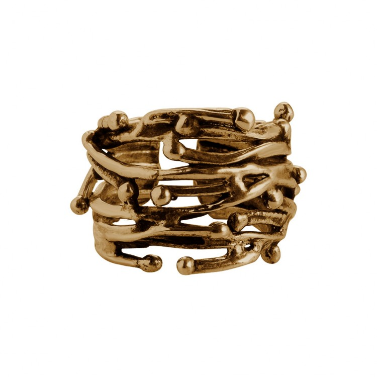 Ring ADONI-1, col. gold, Gr.S/M