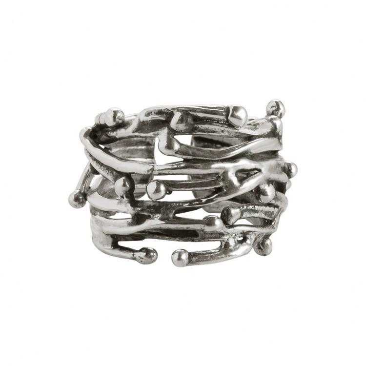 Ring ADONI-1, col. silber, Gr.M/L
