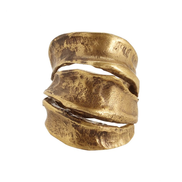 Ring AKALA, col. gold, Gr.S/M
