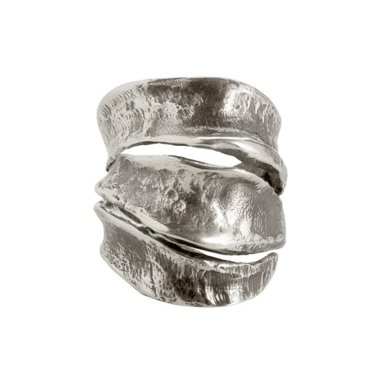 Ring AKALA, col. silber, Gr.S/M