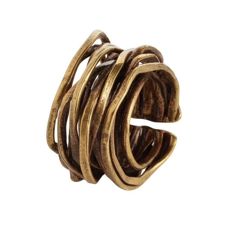 Ring WANGARA, col. gold, Gr.M/L