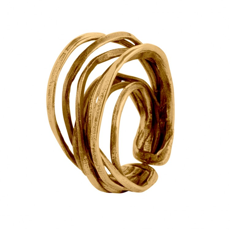 Ring EUMINA, col. gold, Gr.M/L
