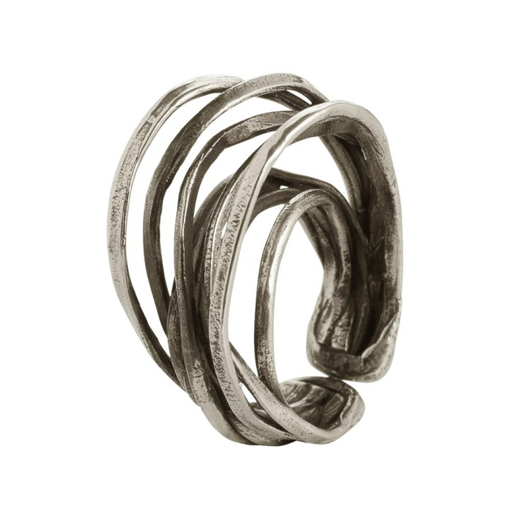 Ring EUMINA, col. silber, Gr.S/M