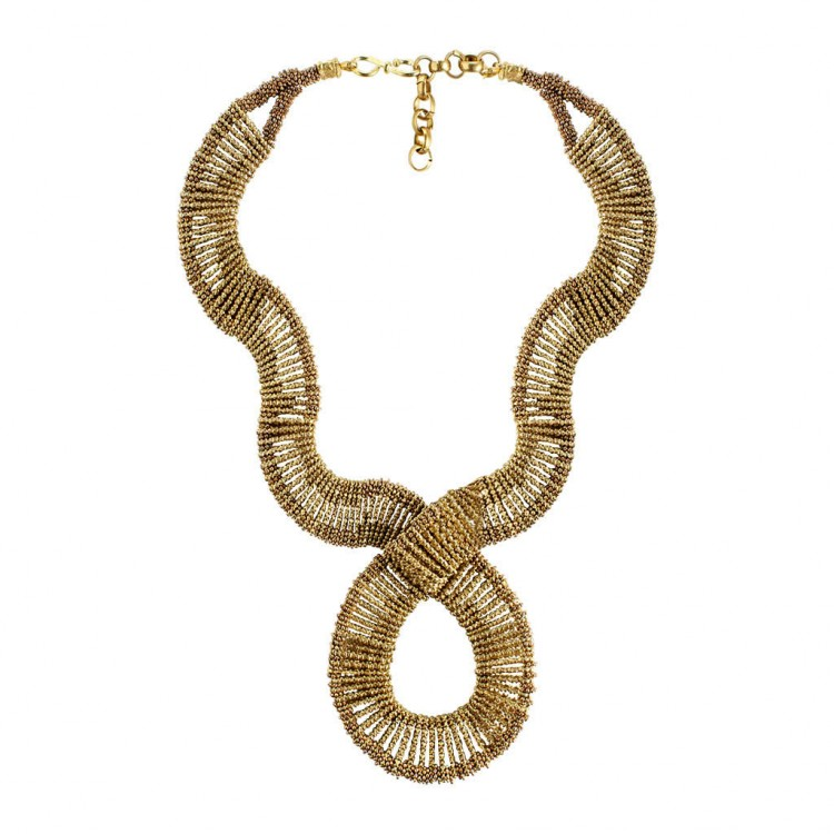 Collier TANGARI, col. gold