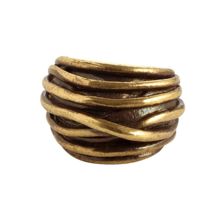 Ring GAREMA, col. gold, Gr.S/M