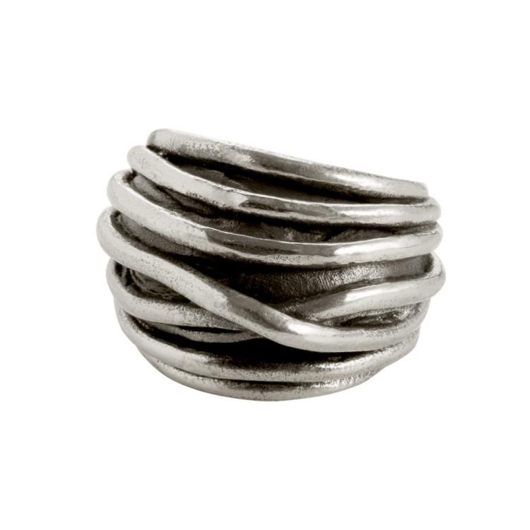Ring GAREMA, col. silber antik