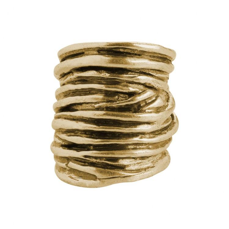 Ring ASMANA, col. gold, Gr.S/M