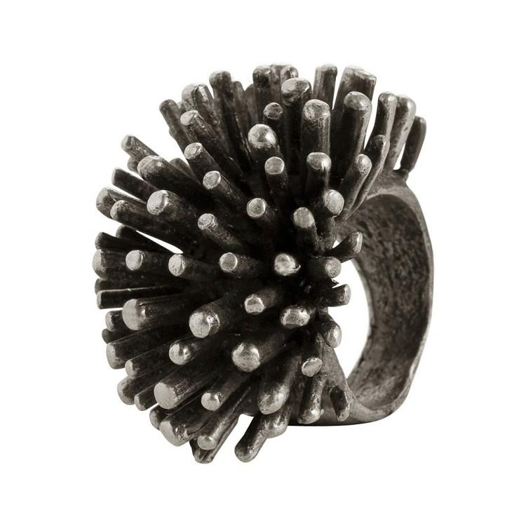 Ring PENGANA, col. silber, Gr.M/L