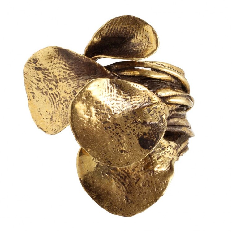 Ring ARLINDA, col. gold antik