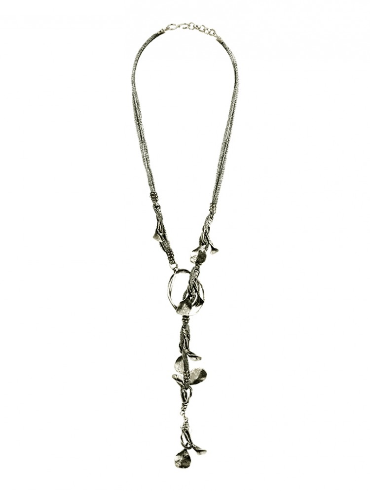 Collier ARLINDA-1, col. silber