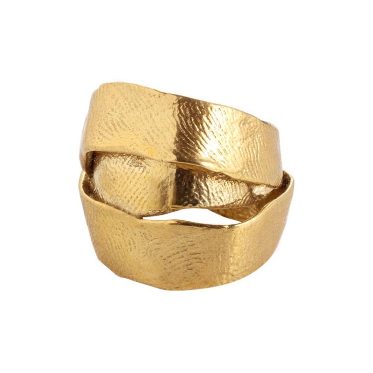 Ring AUMA, col. gold antik