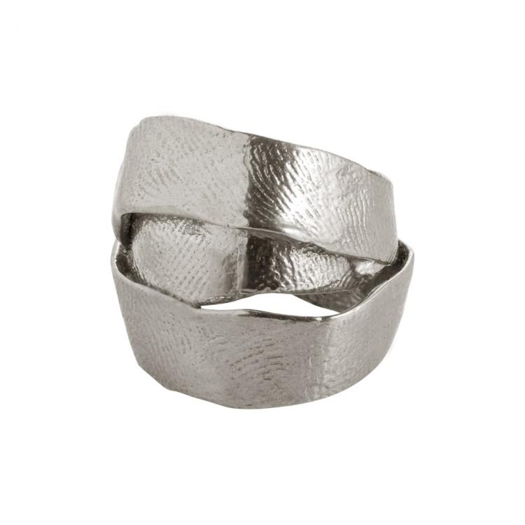 Ring AUMA, col. silber, Gr.S/M