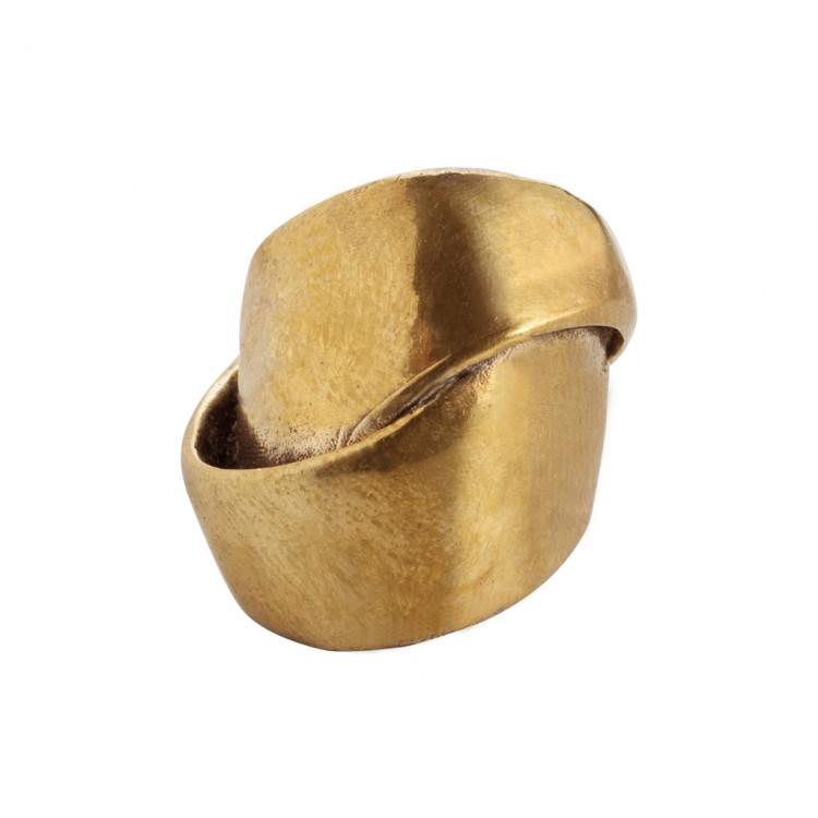 Ring NASMY, col. gold, Gr.S/M