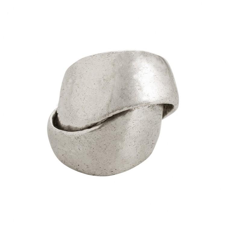 Ring NASMY, col. silber, Gr.S/M