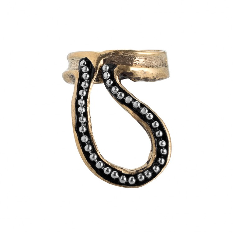 Ring PHYLIS, col.gold, Gr.M/L