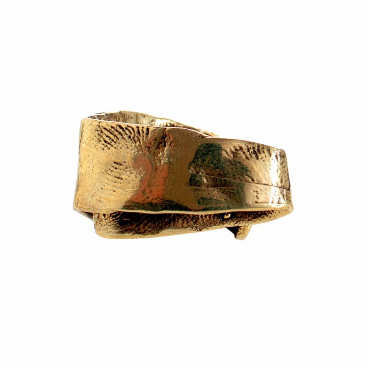 Ring NYA, col. gold, Gr. M/L