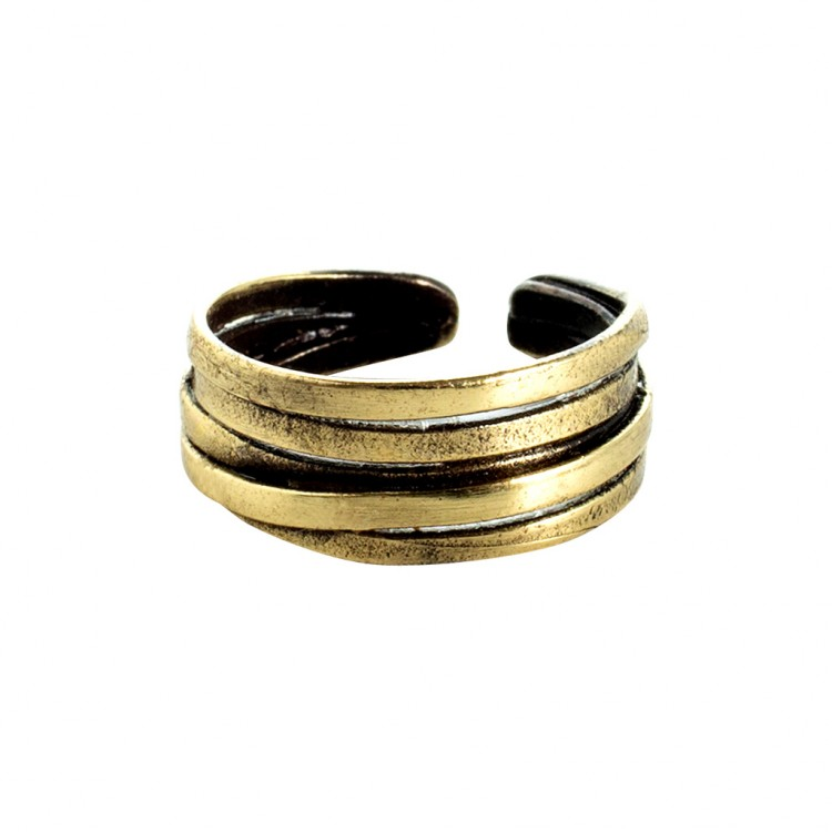 Ring FINNA, col. gold antik