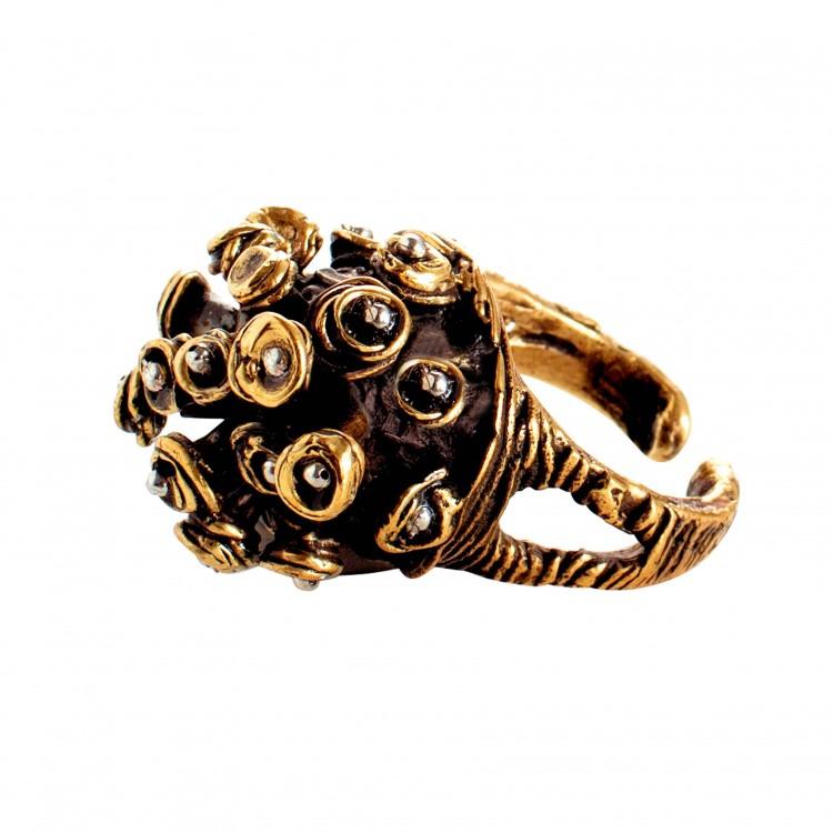 Ring MOYAL, col. gold, Gr. M/L