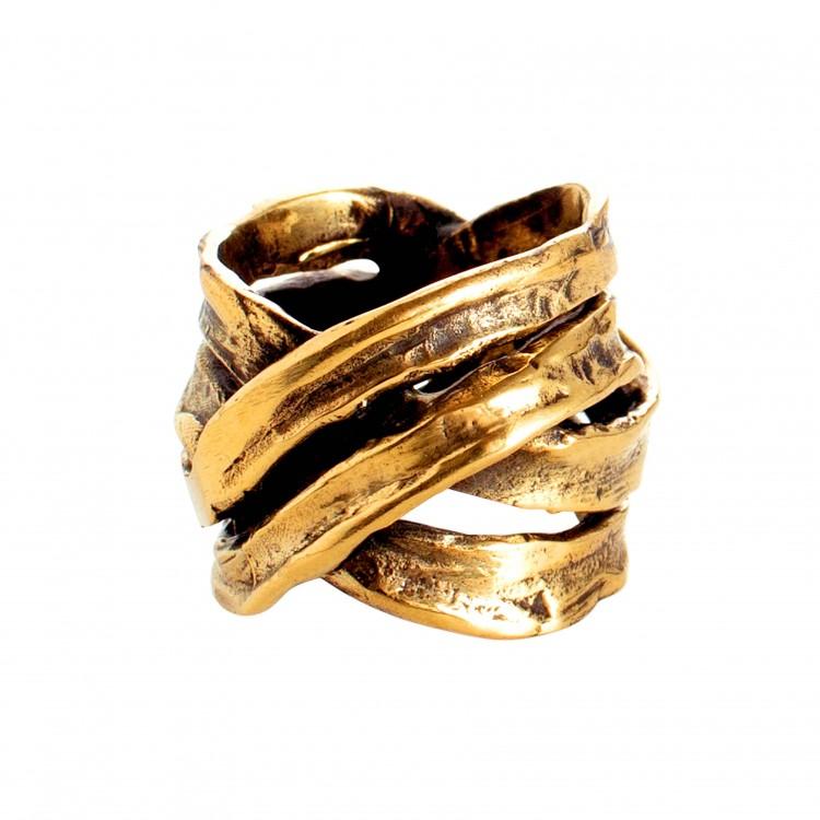 Ring MANARI, col. gold, Gr. M/L