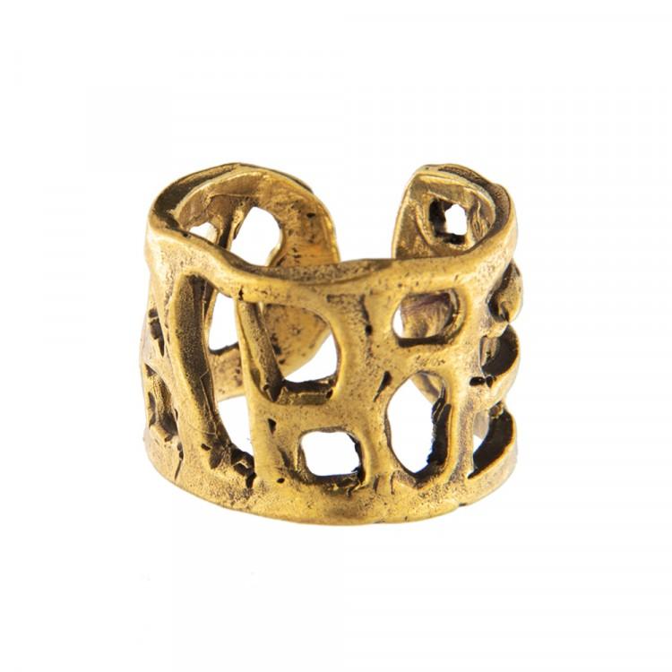 Ring CASTIGO, col. gold antik