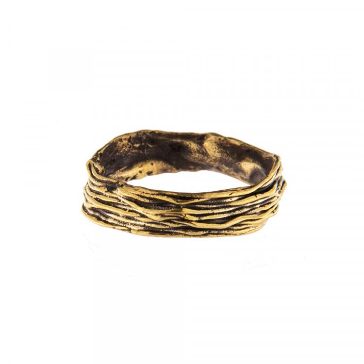 Ring NATYR-1, col. gold antik, Größe L