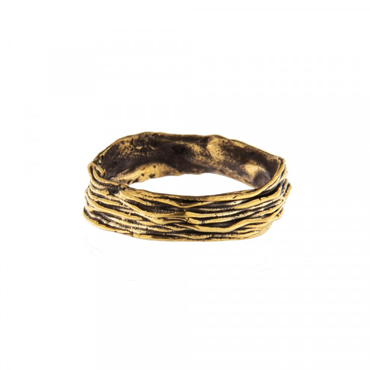 Ring NATYR-1, col. gold antik