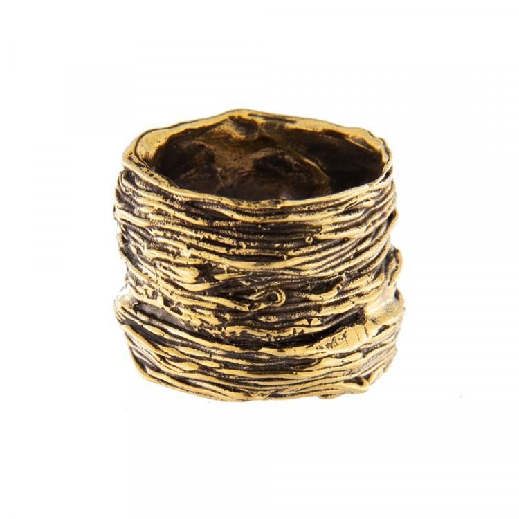 Ring NATYR-3, col. gold antik, Größe M