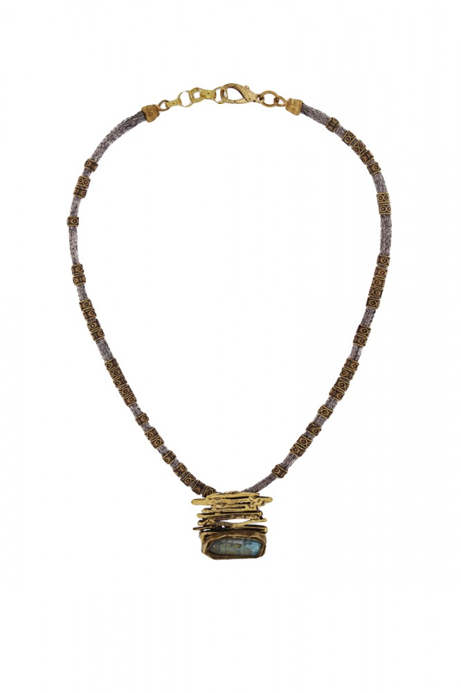 Collier KAVVA,col. gold antik