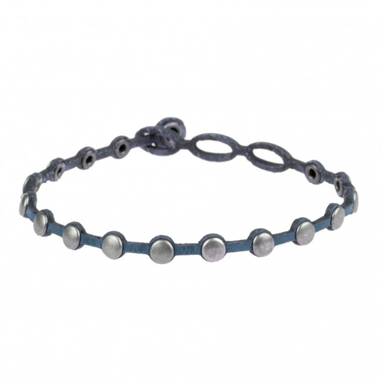 Armband PUNTO, col. JEANS, one size