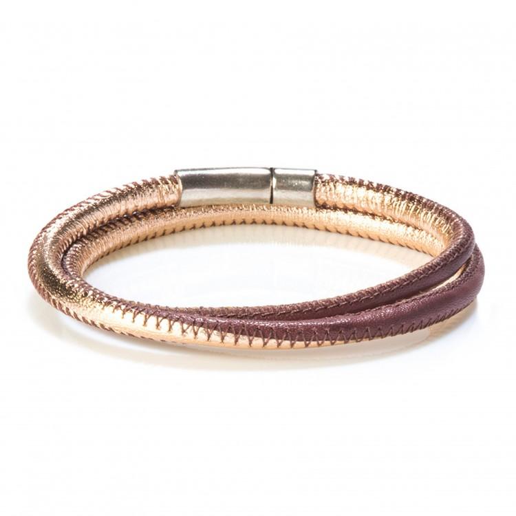 Bracelet AMORINI, col. cippria/brownrose
