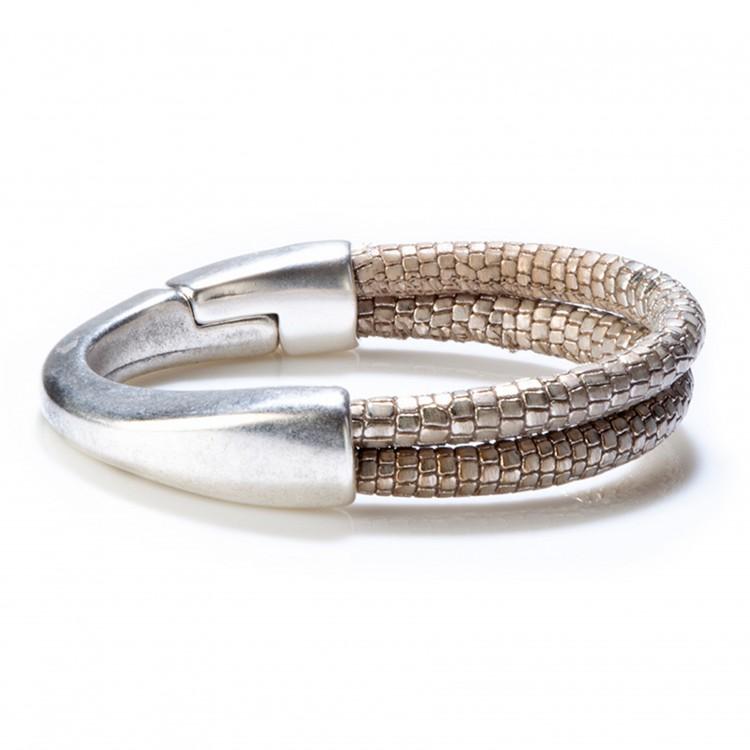 Armband COLOMBO, col. argento/ silber, MEDIUM