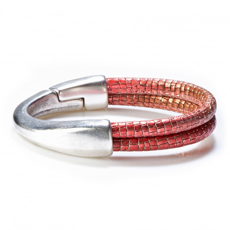 Armband COLOMBO, col. rosso/ rot, SMALL