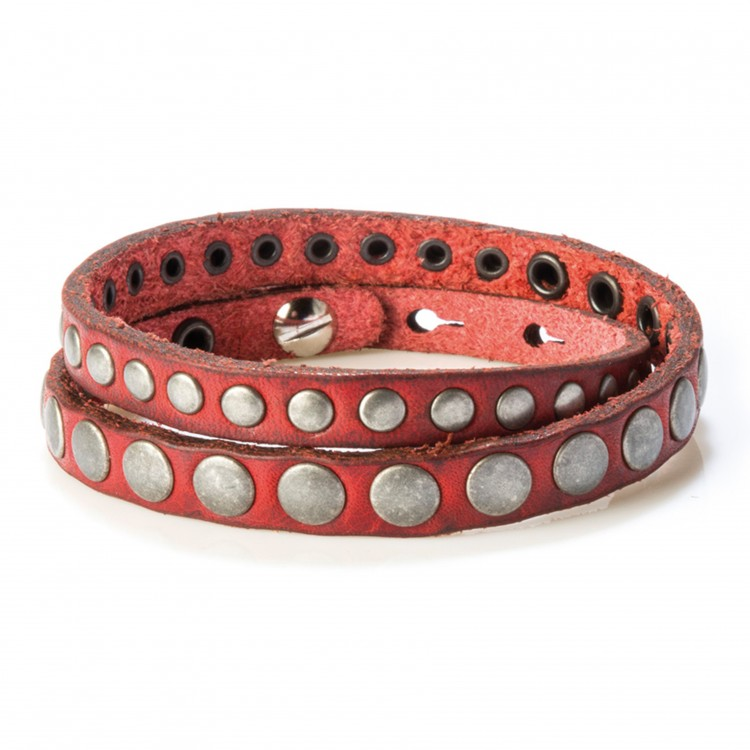 Armband MAURO, col. ROSSO, one size