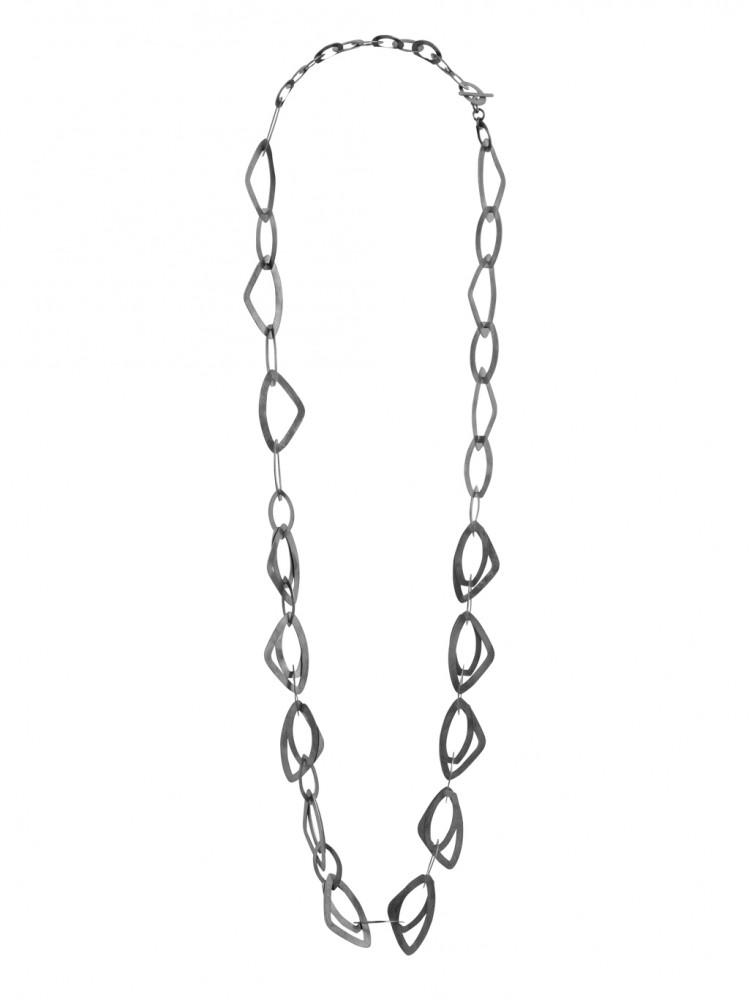 Collier NERAJ003, col. schwarz, lang