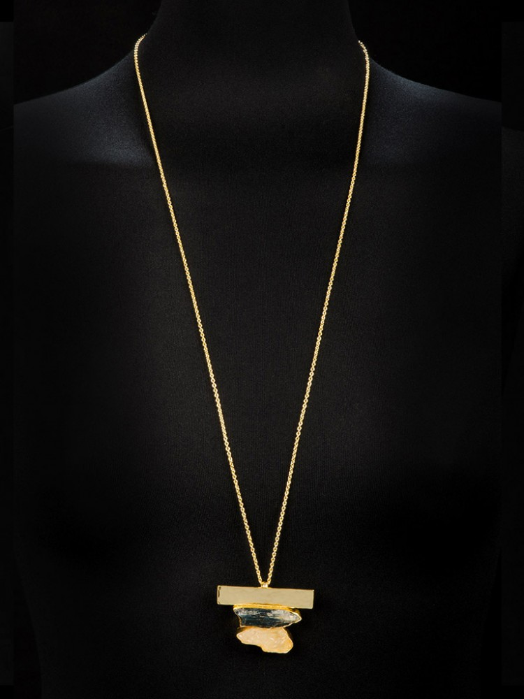 Collier NERAJ008, col. gold - O