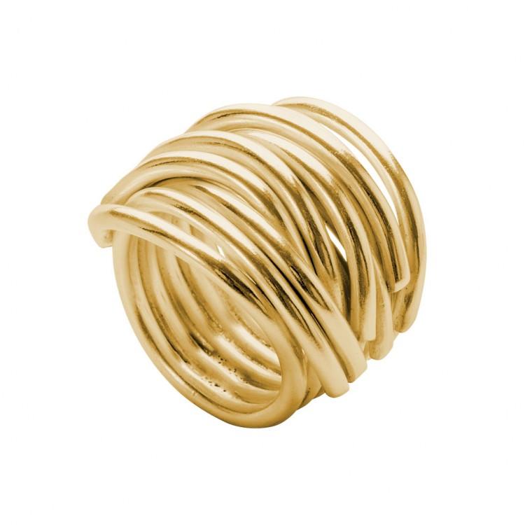 Ring NERAJ019, col. gold, Gr.S