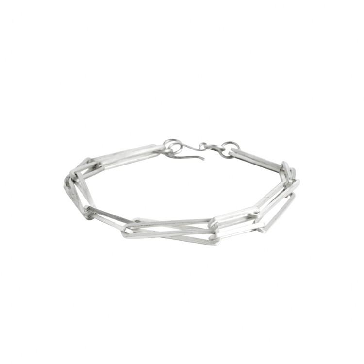 Armband N020, col. silber