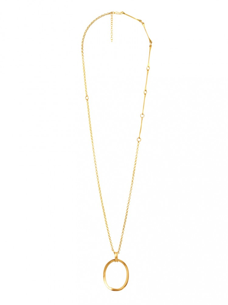 Collier N024, col. gold