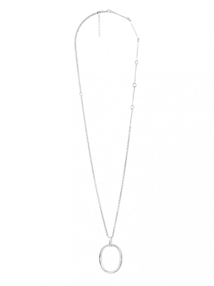 Collier N024, col. silber