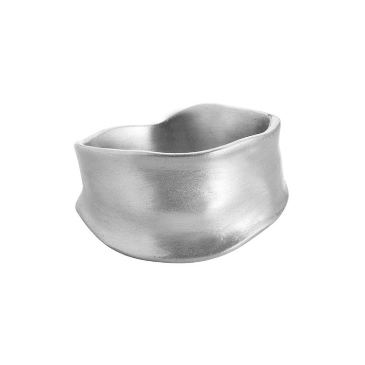 Ring N024-2, col. silber, Gr.#56