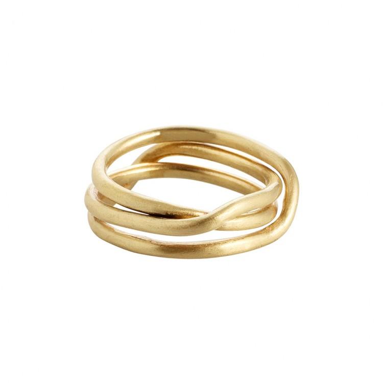 Ring N025, col. gold, Gr.#58