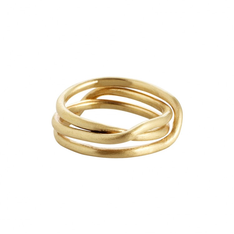 Ring N025, col. gold, Gr.#56
