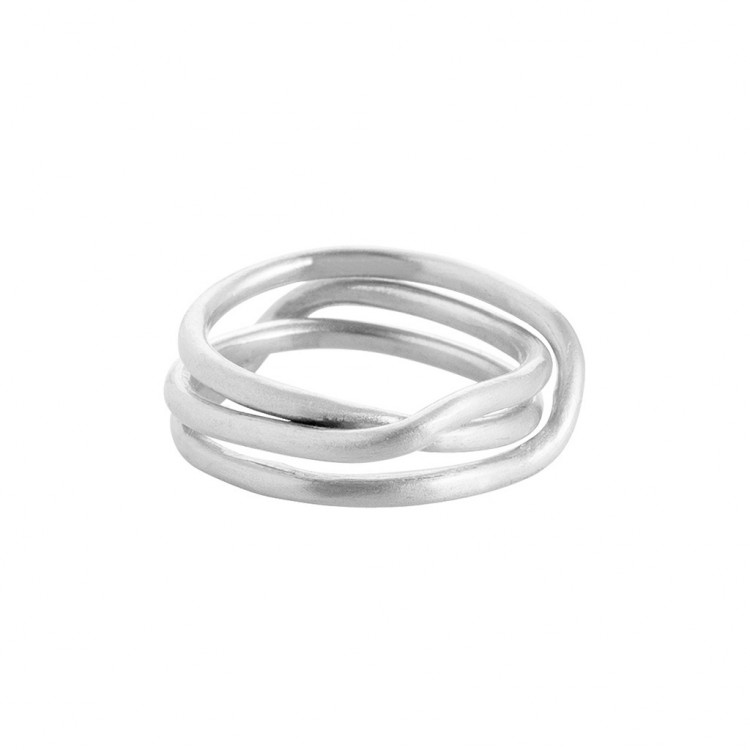 Ring N025, col. silber, Gr.#56