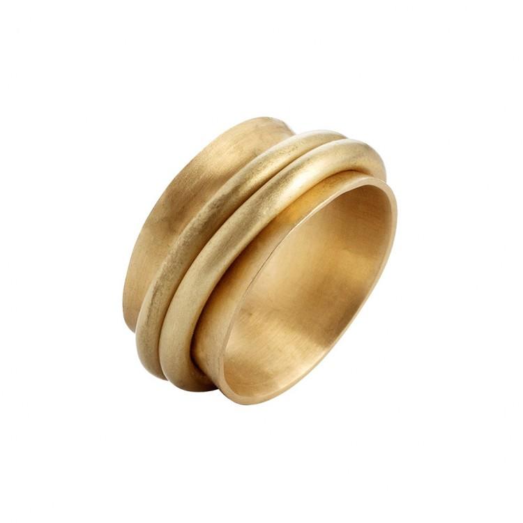Ring N026, col. gold, Gr.#58