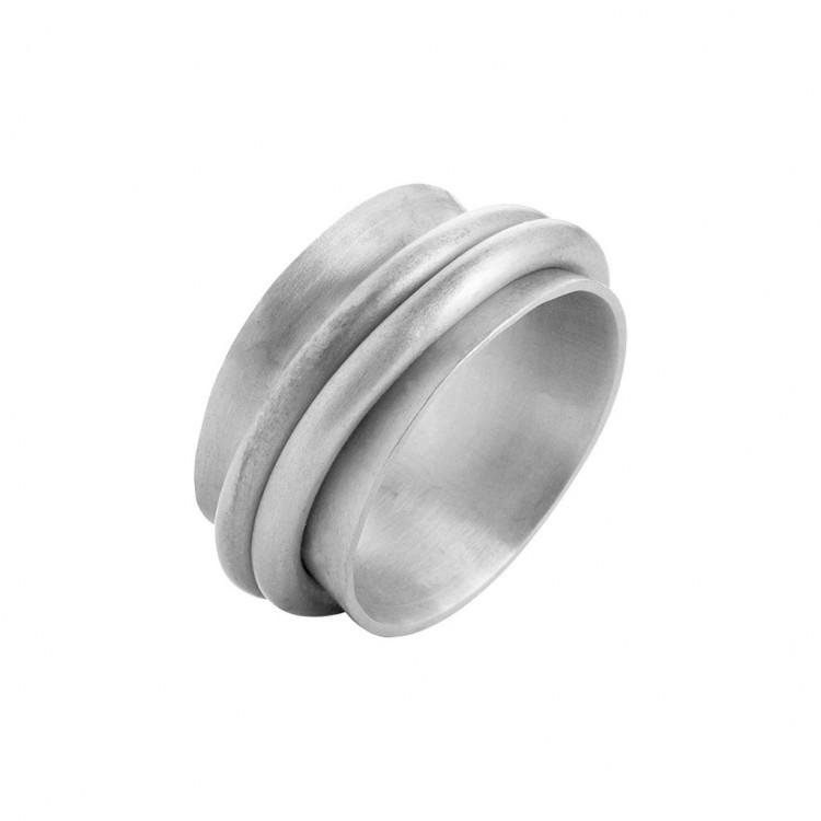 Ring N026, col. silber, Gr.#56
