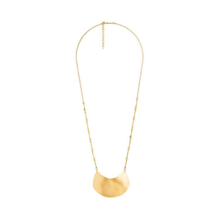 Collier N027, col. gold