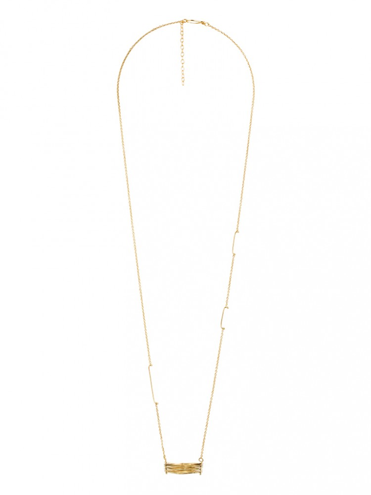 Collier N028, col. gold